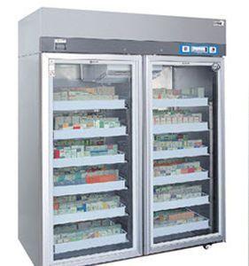 Pharmacy refrigerator / cabinet / 2-door 2 °C ... 8 °C, 1350 L | CBR-1000S GIANTSTAR