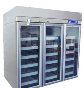 Pharmacy refrigerator / cabinet / 2-door 2 °C ... 8 °C, 1745 L | CBR-1000SS GIANTSTAR