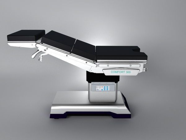 Universal operating table / electro-hydraulic / X-ray transparent Comfort 300 Wuxi Comfort Medical Equipment