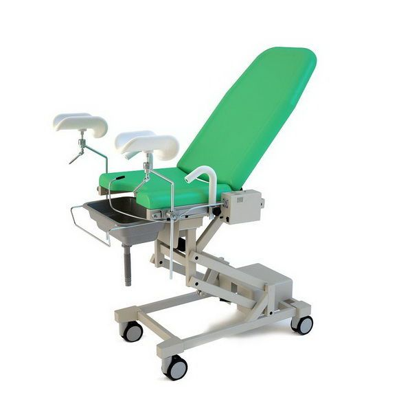 Gynecological operating table / electrical / on casters YJ-6 Wuxi Comfort Medical Equipment