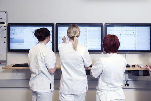 Patient central monitoring station CCL4 Patient Ward Cetrea