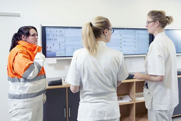 Emergency department management and communication system for CCL4 Emergency Cetrea
