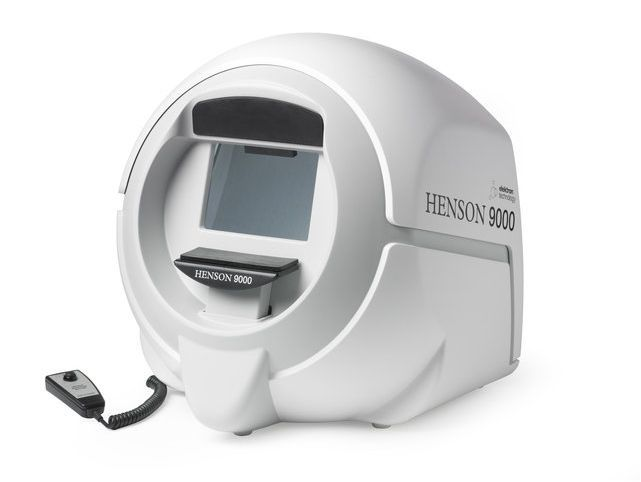 Ophthalmic perimeter (ophthalmic examination) / static perimetry Henson 9000 Topcon Europe Medical