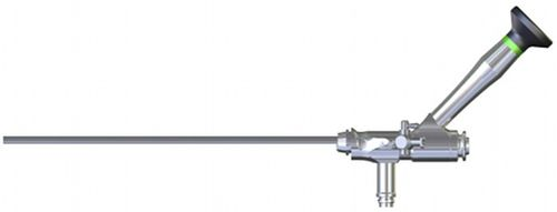 Nephroscope endoscope / with working channel / rigid 45°-Abwinklung HIPP Endoskop Service