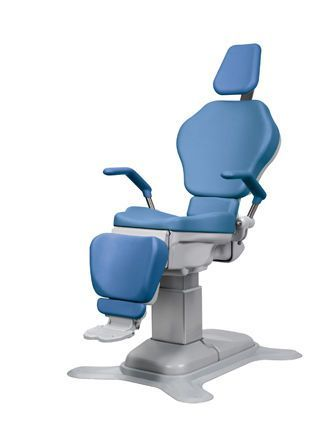 ENT examination chair / electrical / height-adjustable / 3-section OP-S6 OPTOMIC ESPAÑA