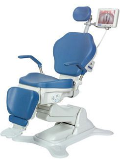 ENT examination chair / electrical / height-adjustable / 3-section OP-S10 OPTOMIC ESPAÑA
