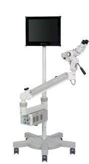 Video colposcope / binocular / mobile / with video monitor OP-C5 OPTOMIC ESPAÑA