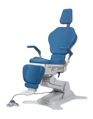 ENT examination chair / electrical / height-adjustable / 3-section OP-S8 OPTOMIC ESPAÑA