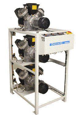 Medical air compression system / piston 0.75 - 7.5 kW , 4 - 56 m³/h , 4 - 15 bar NOVAIR