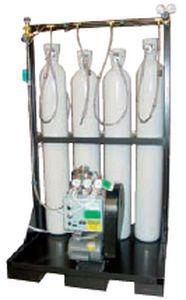 Cylinder filling system medical / oxygen NOVAIR