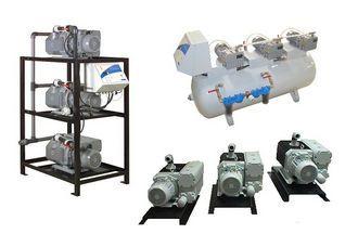 Medical vacuum system / rotary vane / lubricated 0.37 - 11 kW , 12 - 536 m³/h NOVAIR