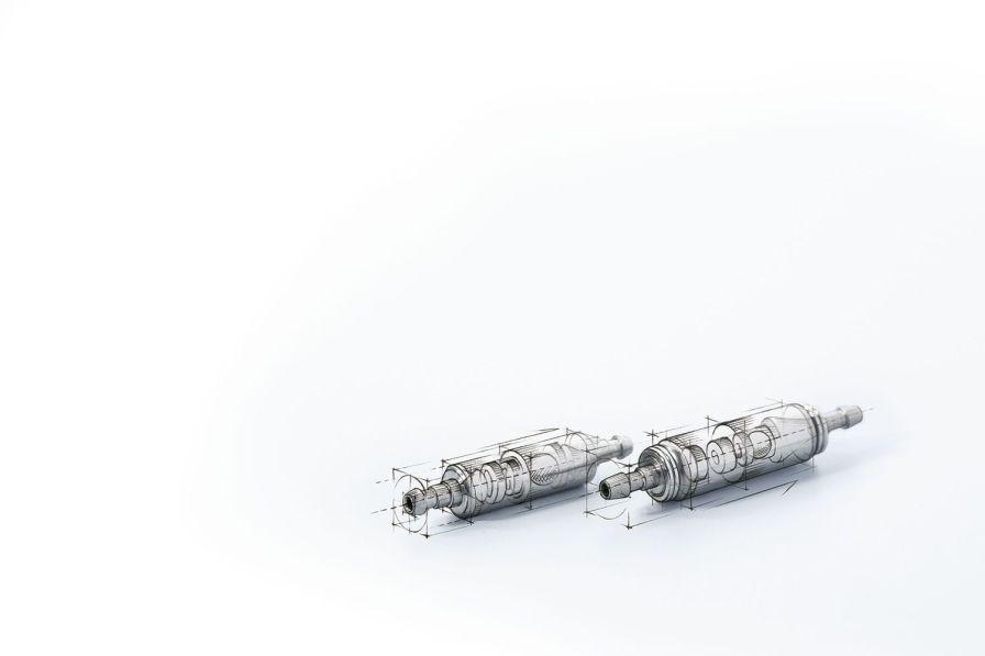 Hydrocephalus shunt valve -valve- MIETHKE ShuntAssistant® Aesculap - a B. Braun company