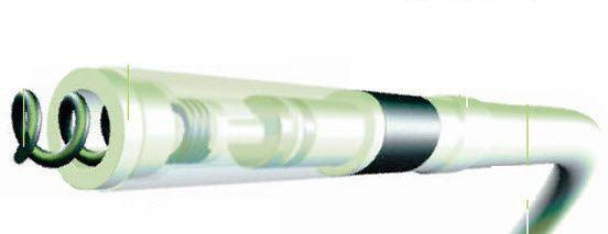 Cardiac stimulation lead ICF 09B Vitatron