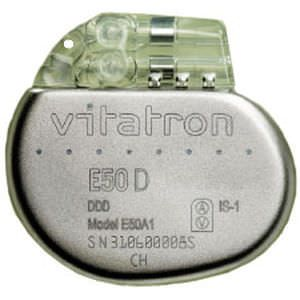 Implantable cardiac stimulator Vitatron E50 D Vitatron