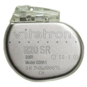 Implantable cardiac stimulator Vitatron G20 SR Vitatron