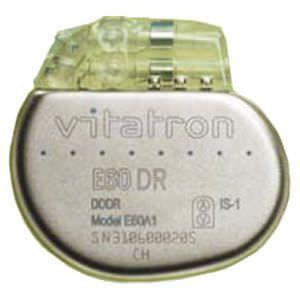 Implantable cardiac stimulator Vitatron E60 DR Vitatron