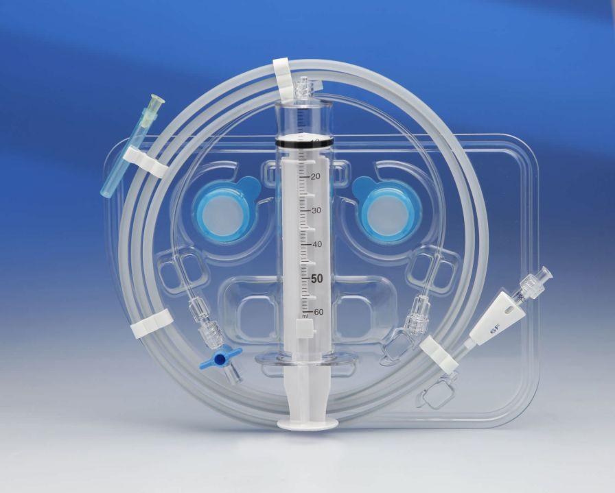 Aspirating catheter eucaAC Eucatech