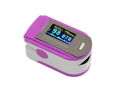Fingertip pulse oximeter / compact F4 CAREWELL