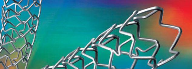 Coronary stent / bioactive ICROS amg international gmbH