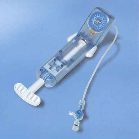Manual balloon catheter pump Angioflux amg international gmbH