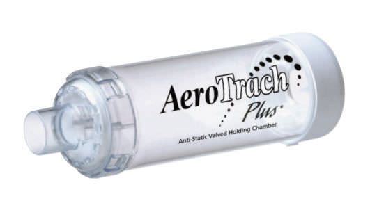 Inhalation chamber AeroTrach Plus* Trudell Medical International