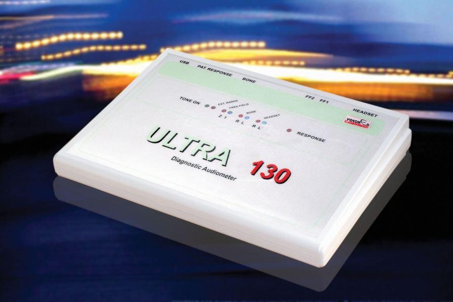 Diagnostic audiometer (audiometry) / audiometer / digital ULTRA 130 Videomed