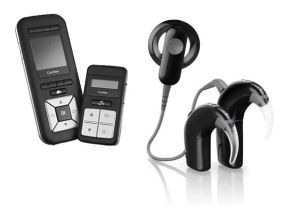 Behind the ear processor cochlear implant / remote-control for systems / internal part / remote-controlled Nucleus® 6 Cochlear