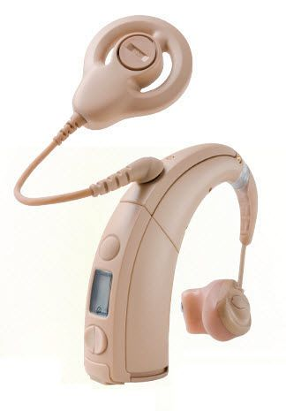 Internal part cochlear implant / behind the ear processor Hybrid™ Cochlear