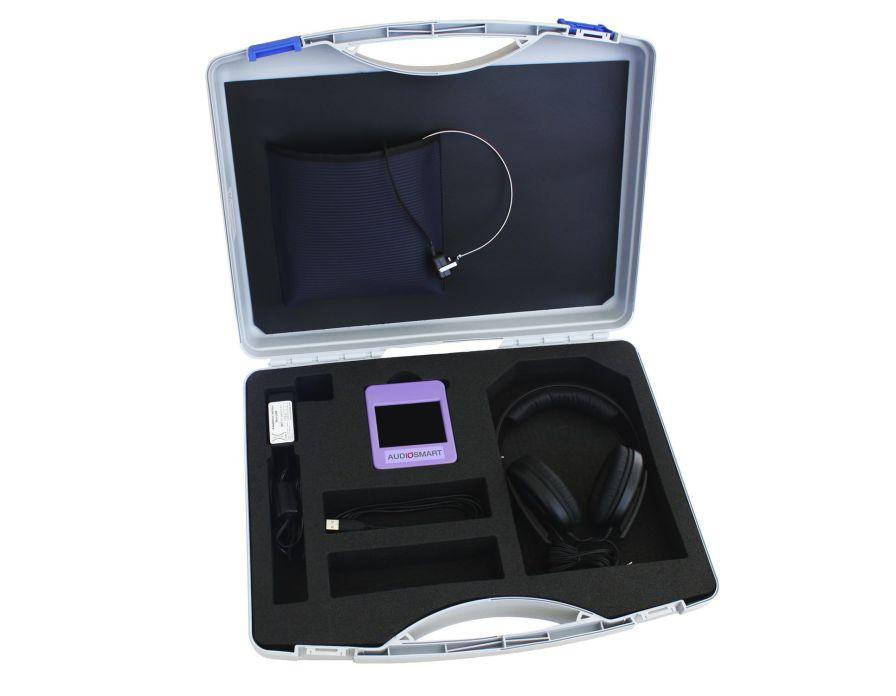 Diagnostic audiometer (audiometry) / audiometer / digital / portable AUDIOSMART Echodia