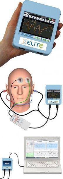 Evoked auditory potential measurement system (audiometry) / digital ELITE Echodia