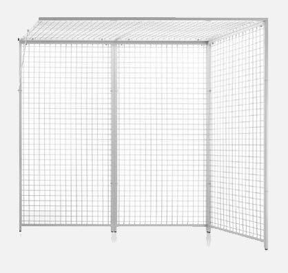 3-panel cage of Rocher FI.5050 JMS Mobiliario Hospitalar