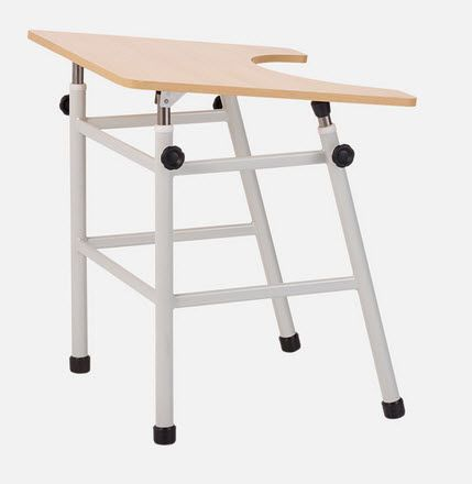 Height-adjustable ergotherapy table FI.5065 JMS Mobiliario Hospitalar