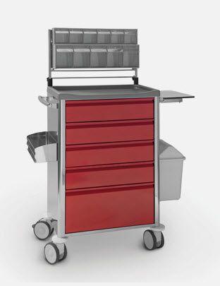 Emergency trolley CR.1589.J JMS Mobiliario Hospitalar
