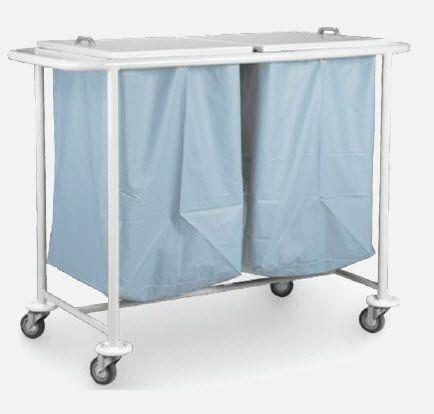 Linen trolley / 2-bag CR.1540, CR.1541 JMS Mobiliario Hospitalar