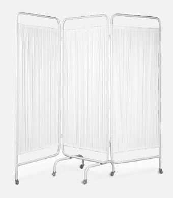 Hospital screen / on casters / 3-panel BI.1200 JMS Mobiliario Hospitalar