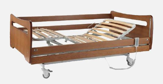 Homecare bed / electrical / on casters / height-adjustable CM.6200.Y JMS Mobiliario Hospitalar