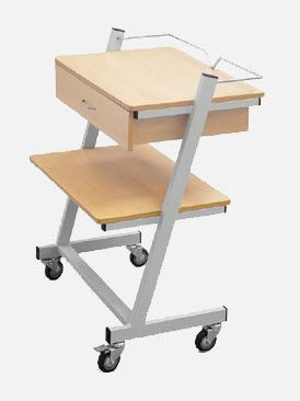 Medical device trolley / 1-tray mE.1836 JMS Mobiliario Hospitalar