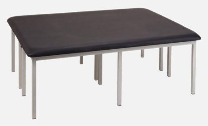 Manual Bobath table / 1 section FI.5005 JMS Mobiliario Hospitalar