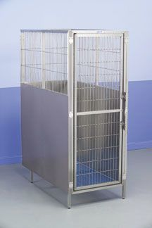 Kennel cage RAISED FLOOR Shor-Line