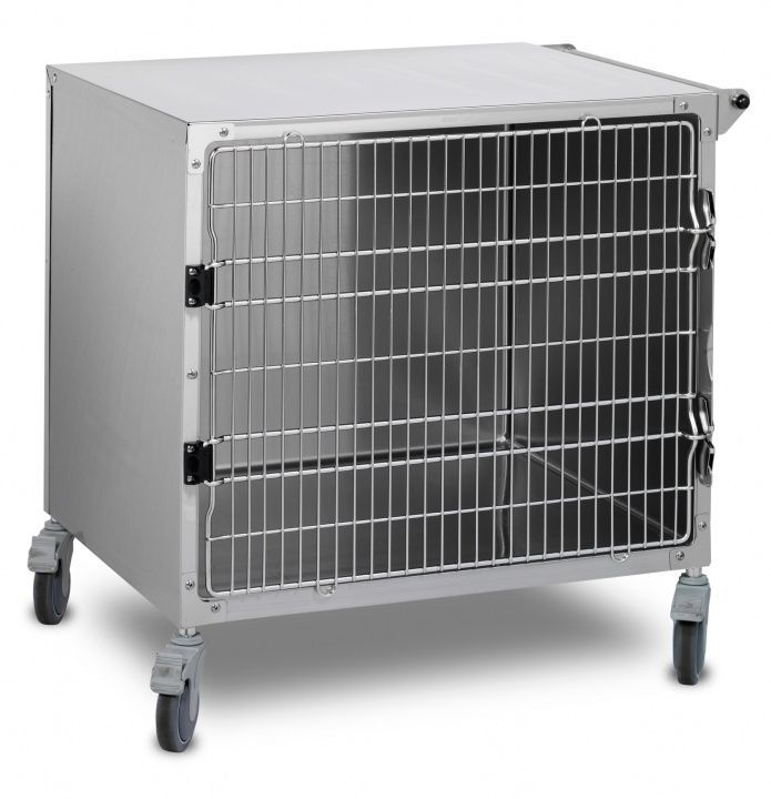 Stainless steel veterinary cage 902.0001.50 Shor-Line