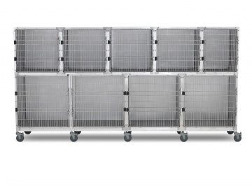 Stainless steel veterinary cage 902.0114.13 Shor-Line