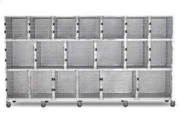Stainless steel veterinary cage / veterinary 902.0117.17 Shor-Line