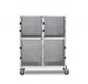 Stainless steel veterinary cage 902.0103.20 Shor-Line