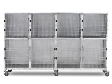 Stainless steel veterinary cage 902.0112.13 Shor-Line