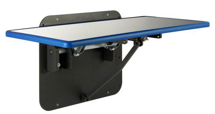 Veterinary examination table / folding / wall-mounted Blue-Line 903.1530.07 Shor-Line