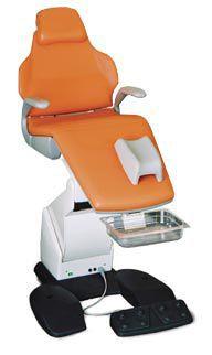 Podiatry examination chair / electromechanical / Trendelenburg / height-adjustable LINDO 3 EYMASA