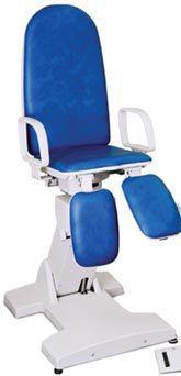 Podiatry examination chair / electromechanical / height-adjustable / 3-section PL EYMASA