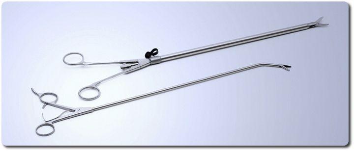 Thoracoscopic forceps Ackermann Instrumente