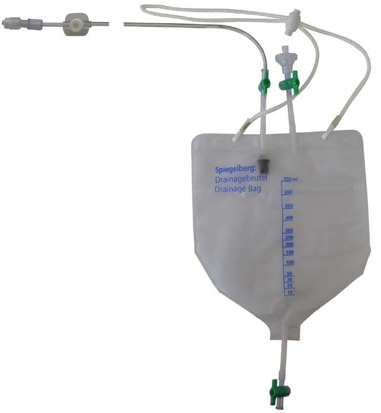Ventricular drainage set Spiegelberg