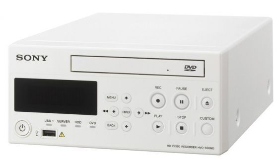 USB video recorder / high-definition / diagnostic HVO-550MD Sony